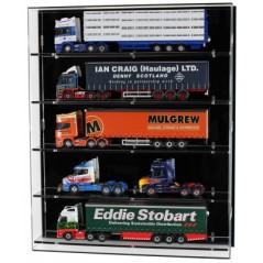 Acrylic Wall Display Case 5 Shelves