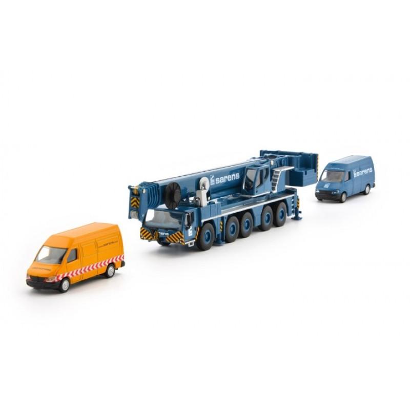 Sarens LTM 1250-5.1 incl Vans 1:87 Scale