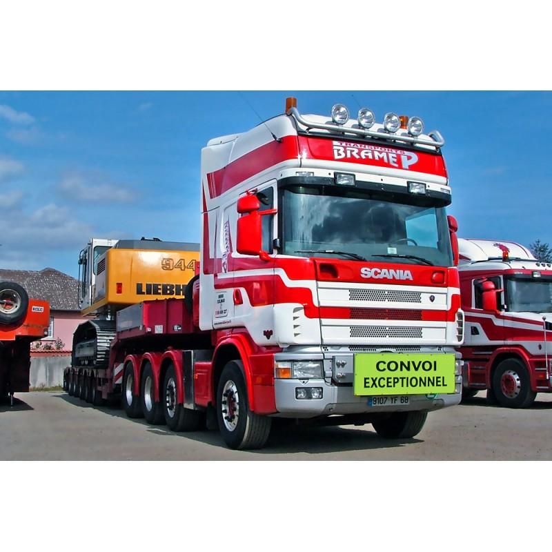Brame Scania R164 - KNT MCO PX 6 axle