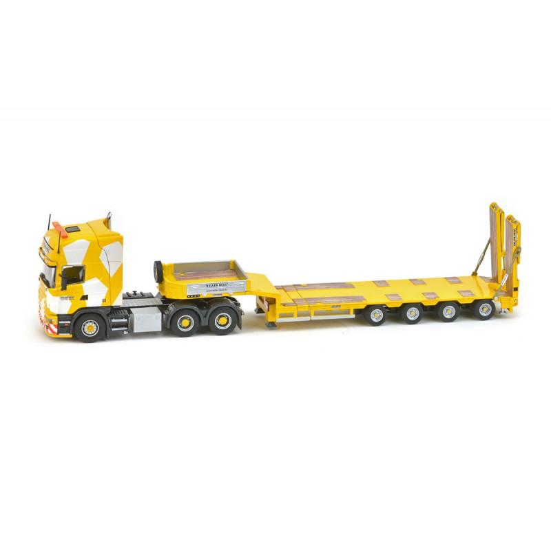 Keller+Hess Scania 164 Topline 6x4+Goldhofer 4semi