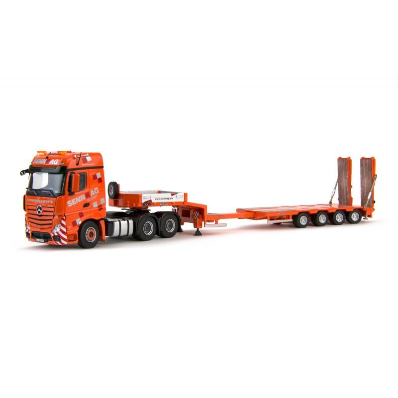 Senn AG MB Actros 6x4 Goldhofer 4 Axle