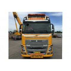 Bomholt Volvo FH04 Globetrotter XL 8x4 with Nooteboom MCO-PX 6 axle