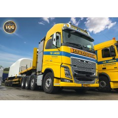 Ter Linden Volvo FH04 Globetrotter 8x4 with Nooteboom Trailer