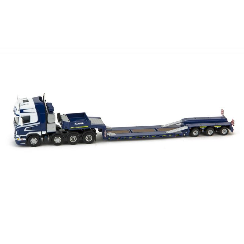 Karner Scania Topl. 8x4 Goldhfr 3xlowbed