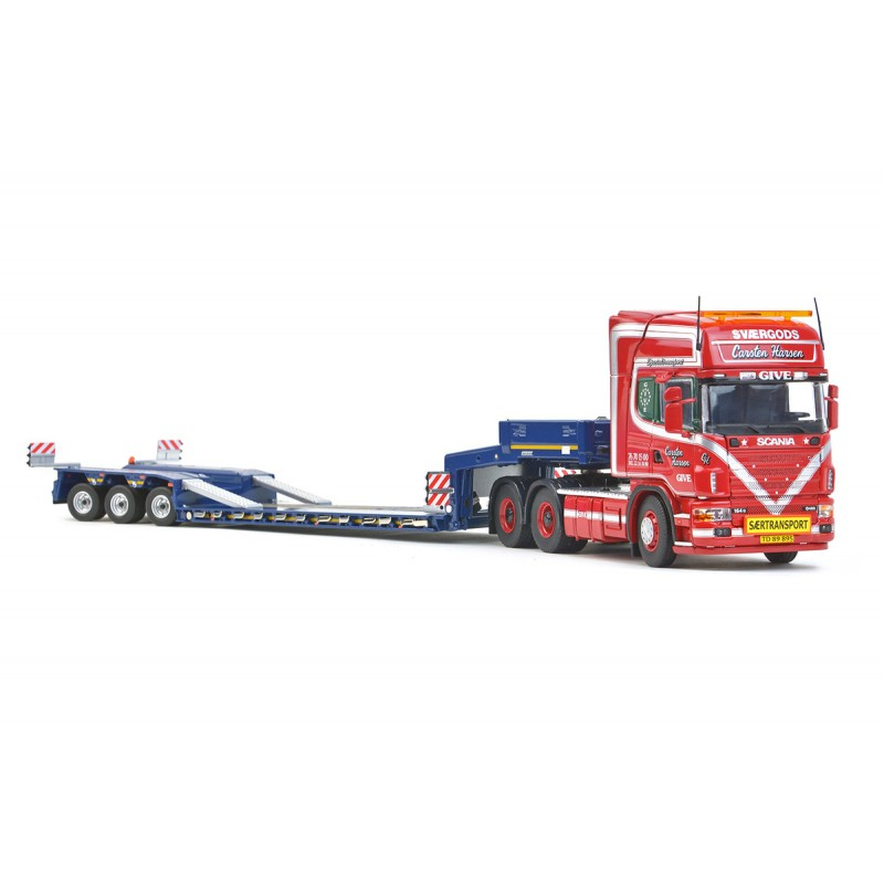 Give Hansen Scania R4 Topline 6x4+Goldhofer 3 axle