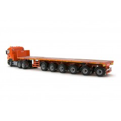 Michielsens Scania R5 Lowline 6x4 with Nooteboom 6 axle Ballasttrailer