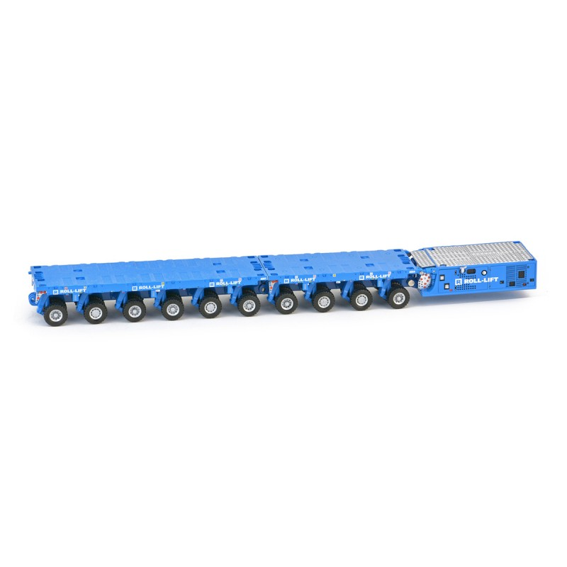 Roll-Lift Scheuerle SPMT 6 axle with SPMT 4 axle with PPU