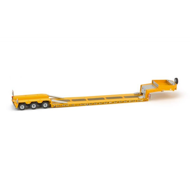 Yellow Series Goldhofer low loader 3 axle