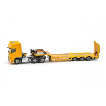 Yellow Series Daf Ssc Euro6 6X4 With Euroflex 3 Axle Semi Low Loader