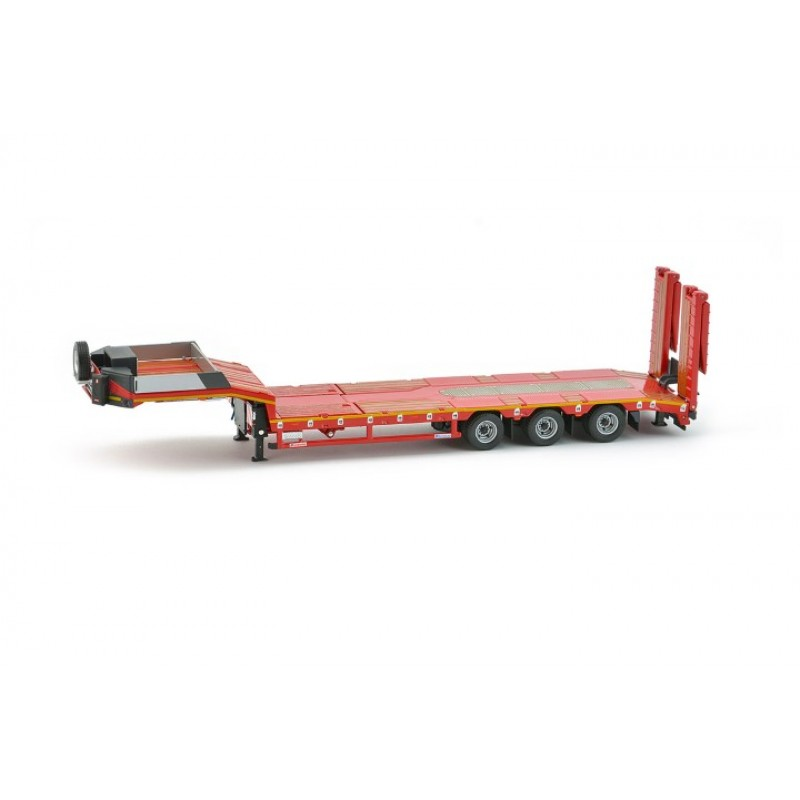 Premium Series Nicolas Euroflex 3 Axle Semi Low Loader