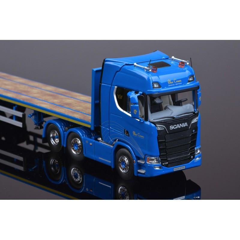 Blue Crown Scania New S-series Highline 6x2 & Flatbed 3 axle