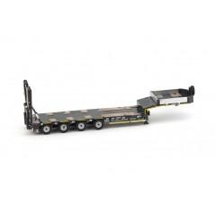 Premium Series Goldhofer 4 axle semi low loader
