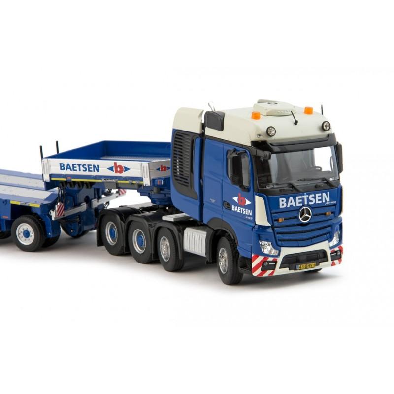 Baetsen Mercedes Actros BigSpace 8x4 with Goldhofer XLE 3+5 axle