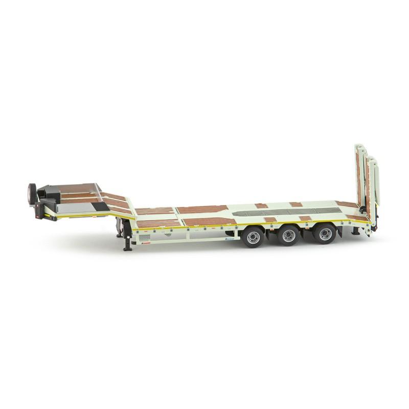Premium series Nicolas Euroflex 3 axle semi low loader