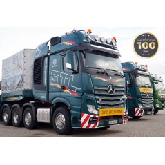 STL Mercedes Benz Actros Gigaspace 8x4 with Nooteboom MCO121-07V