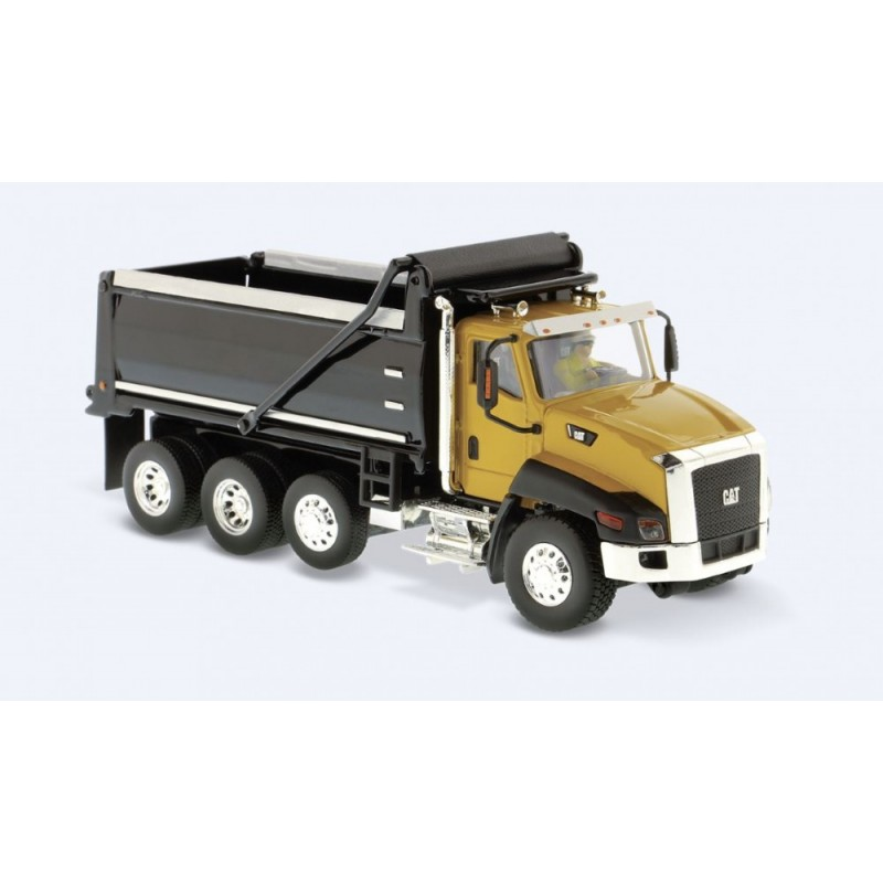 Cat CT660 Dump Truck yellow
