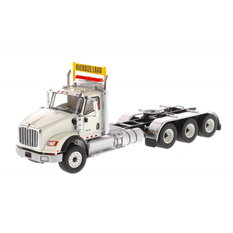 International Hx620 Tridem Tractor White