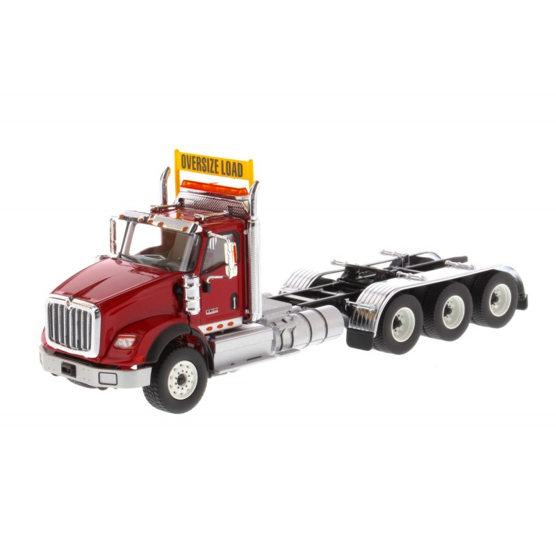International Hx620 Tridem Tractor Red