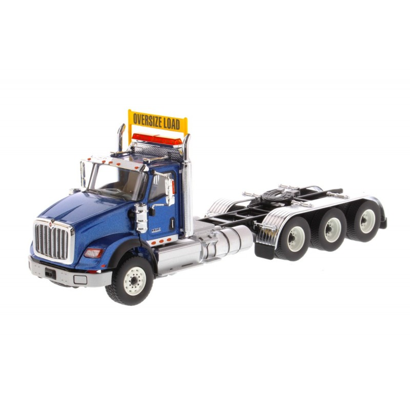 International Hx620 Tridem Tractor Metallic Blue