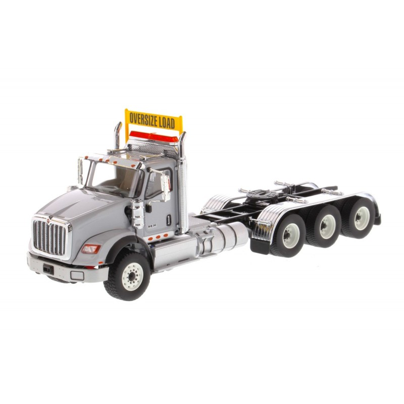 International Hx620 Tridem Tractor Light Grey