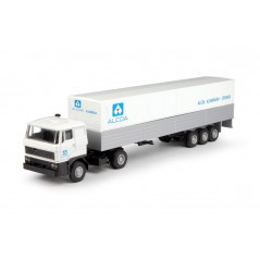 Alcoa DAF with box semitrailer