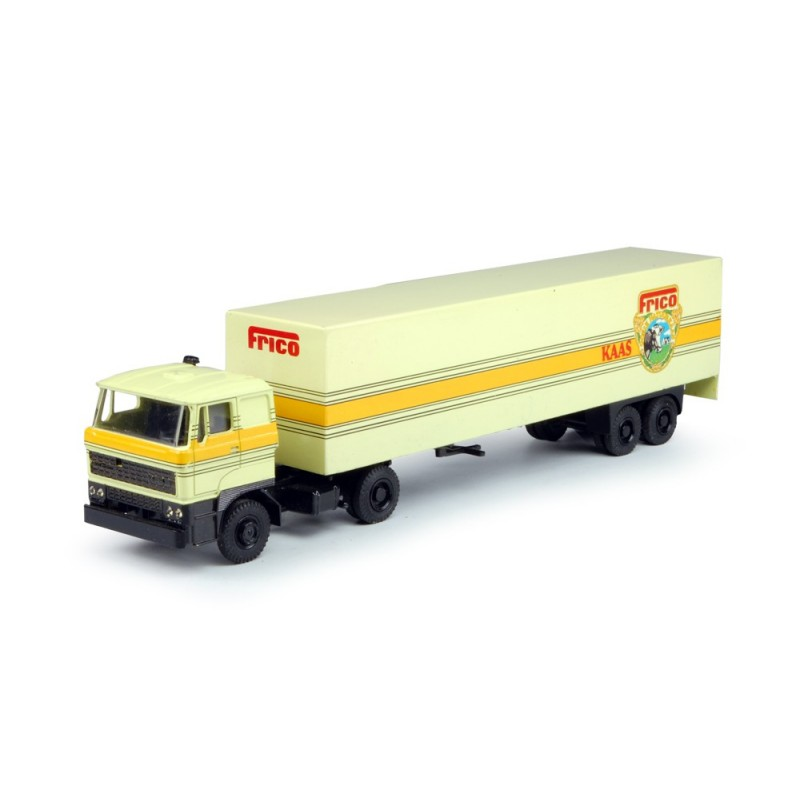 Frico DAF with box semitrailer