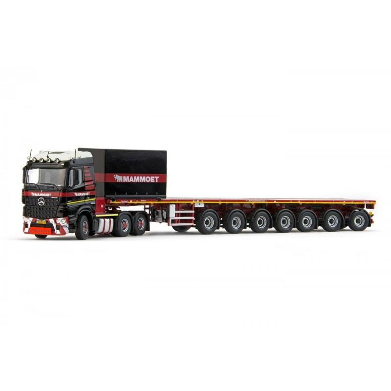 Mammoet Mb Arocs Streamspace 6X4 + 7 Axle Ballast Trailer