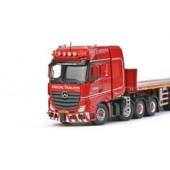 KNT MB Actros SLT Giga 8x4+Ballast trailer 6 axle