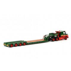 E.J. Van Dijk - 4-Axle Lowloader + Scaniat113/T143
