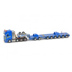 Havator Scania R6 Topline 8X4 With Nooteboom Mco-Px 2+6 Axle With Ltm11209-9.1 Saddles