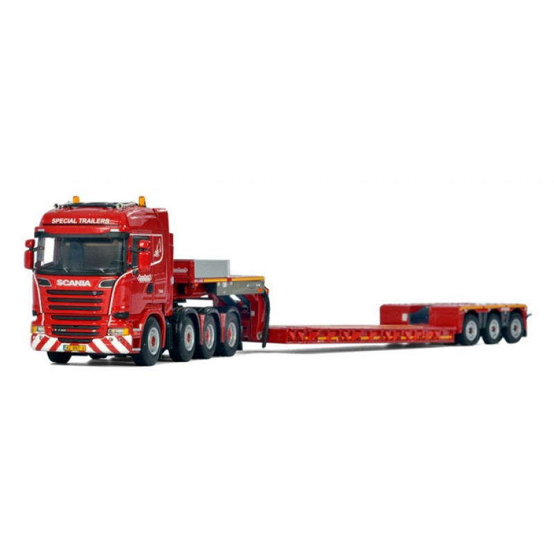 Nooteboom Euro-Px 0+3 + Scania 8X4