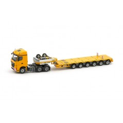 Yellow Multi-Px 6 Axle + Mercedes Benz Arocs Streamspace 6X4