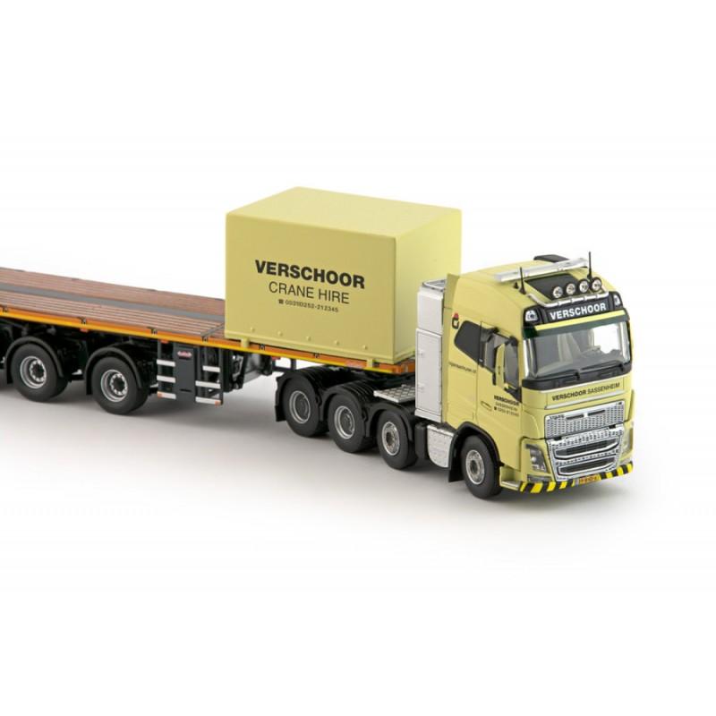 Verschoor 7 Axle Ballasttrailer With Volvo Fh04 Globetrotter 6X4