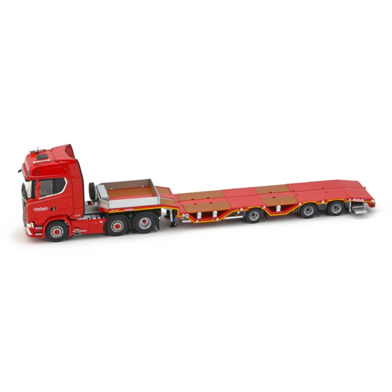 Nooteboom Redline Series OSDS44-03 WEB Semi Lowloader with Scania S Highline 6x2