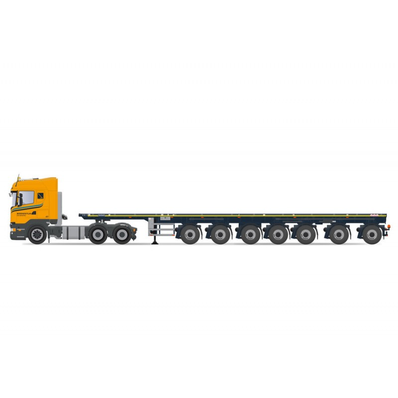 Boekestijn 7-Axle Ballasttrailer With Scania R-Streamline Highline 6X4