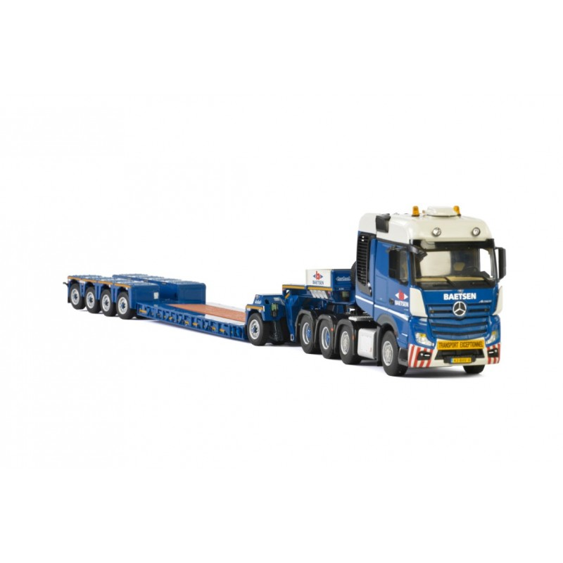 Baetsen - Euro-Px 4-Axle Lowloader + 1-Axle Interdolly With Mb Actros Mp4 Big Space