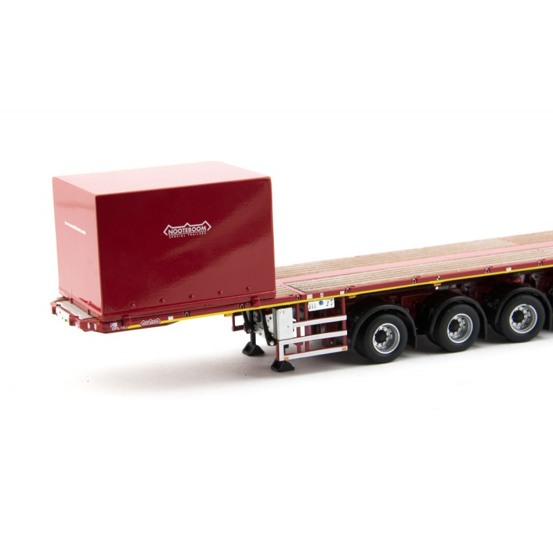 Ballasttrailer 6-Axle With Container