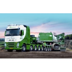 Beelen - Euro-Px 5-Axle Lowloader + 3-Axle Interdolly With Volvo FH4 Globetrotter