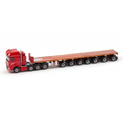 Nooteboom Redline Series ? Ballasttrailer 7-Axle With Daf Ssc 8X4