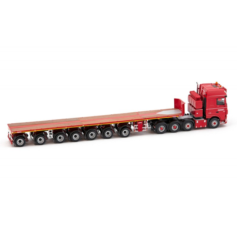 Nooteboom Redline Series ? Ballasttrailer 7-Axle With Daf Ssc 8X4