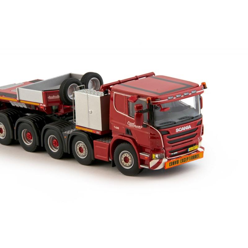 Redline Series Euro-Px 1+4 With Scania 10X4 Flatroof