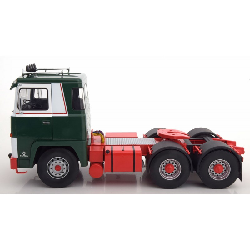 Road Kings Scania LBT141 6 x 2 Green/White 1:18 Scale