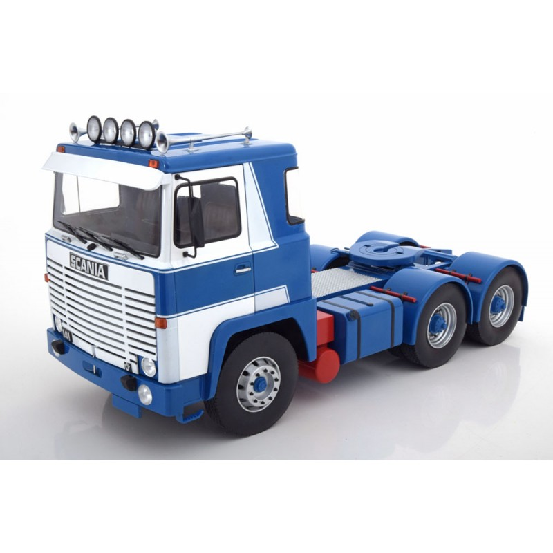 Road Kings Scania LBT141 6 x 2 Blue/White 1:18 Scale
