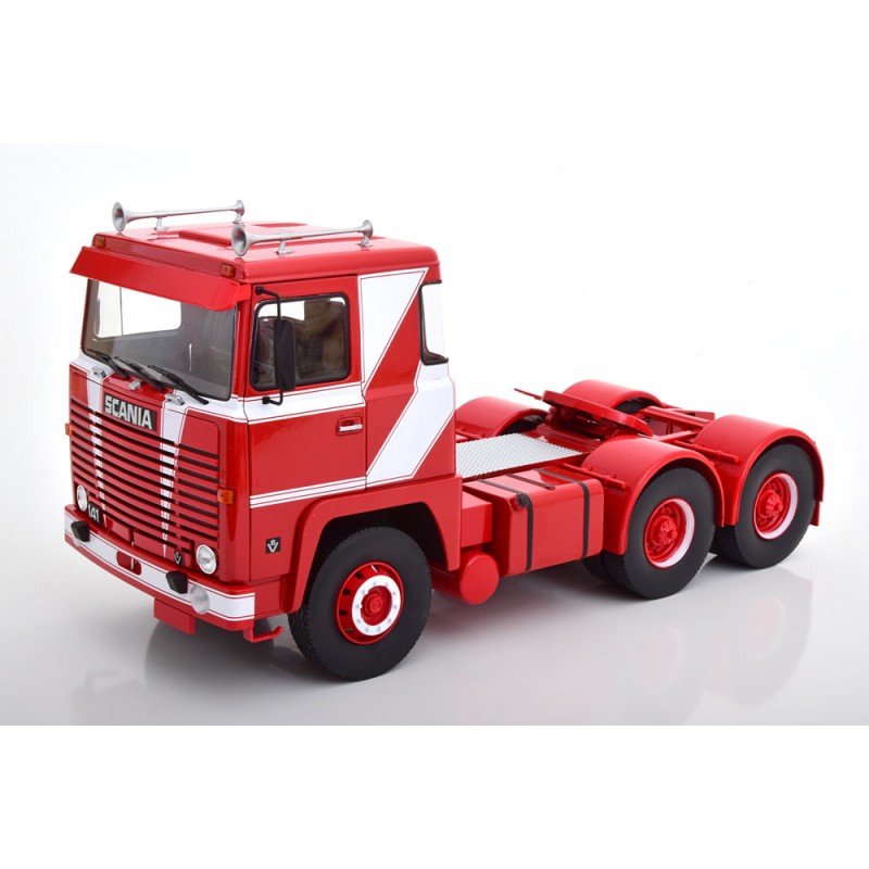 Scania LBT 141 1976 Red/White 1:18 Scale
