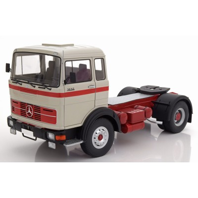 Mercedes Lps 1632 1969 Grey Red Black 1:18 Scale