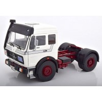 Mercedes Ng 1973  White Silver 1:18 Scale