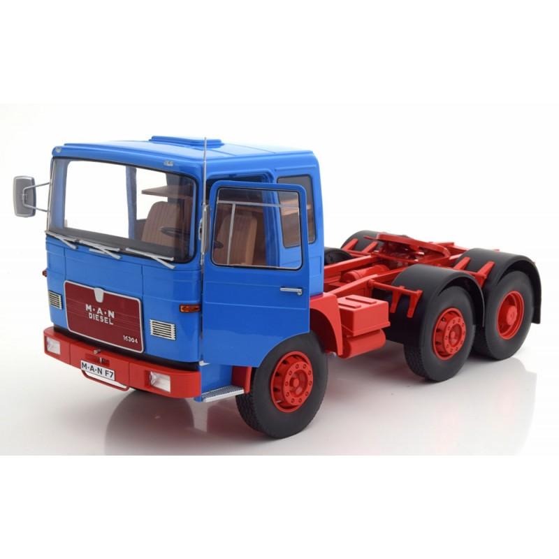 M.A.N. 16304 F7 1972 Blue 1:18 Scale