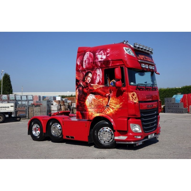 Barry Proctor Daf Xf Euro 6 6X2 Super Space Cab