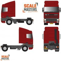 DAF FT-95 Space Cab (Coraldo Red)