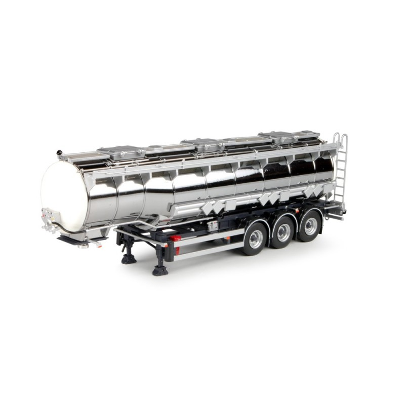 3-axle Gooseneck Chrome Tanker